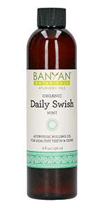 Banyan Botanicals Daily Swish pulling oil
