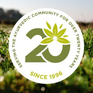 20+ years serving the ayurvedic community