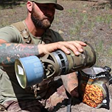 Just add water backpacking meals