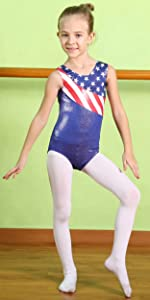 Amazon com: BAOHULU Leotard for Toddler Girls Gymnastics Shiny