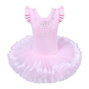 amazon com baohulu leotards for girls ballet dance tutu skirted
