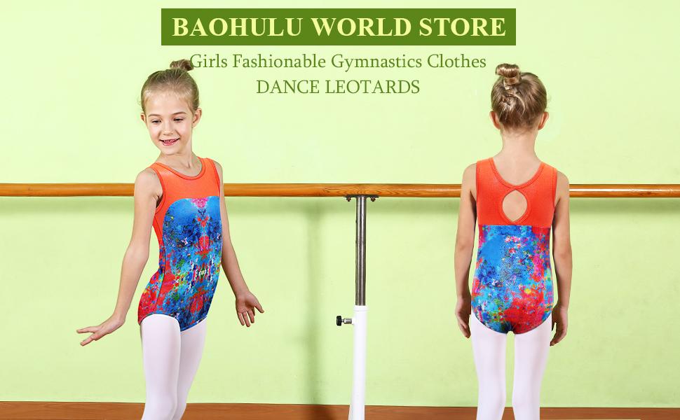 8c588c31c high fashion 3d99b fe08f girls ballet leotard sleeveless basic ...