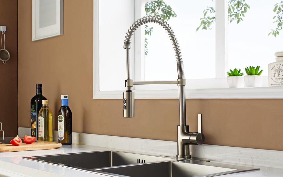 Enzo Rodi ERF7209251AP-10 Modern Commercial Kitchen Faucet