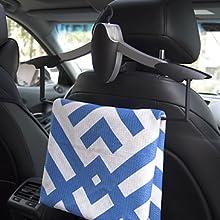 Amazon.com: KOLLIEE - Perchero de coche plegable para abrigo ...