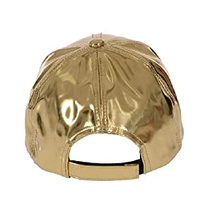 5644fd5e6faa78 Amazon.com: Gary Majdell Sport Unisex Metallic Baseball Cap with ...