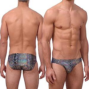 mens bikini briefs sexy swimsuit swimwear hot tight skimpy kinky cute bathing suit boxer briefs