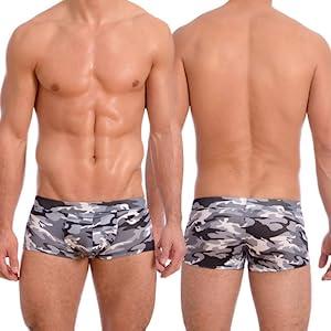 e60233275f Amazon.com: Gary Majdell Sport Mens New Printed Hot Body Boxer ...