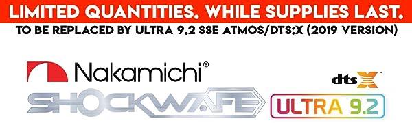 Shockwafe Ultra 9.2 DTS:X Banner