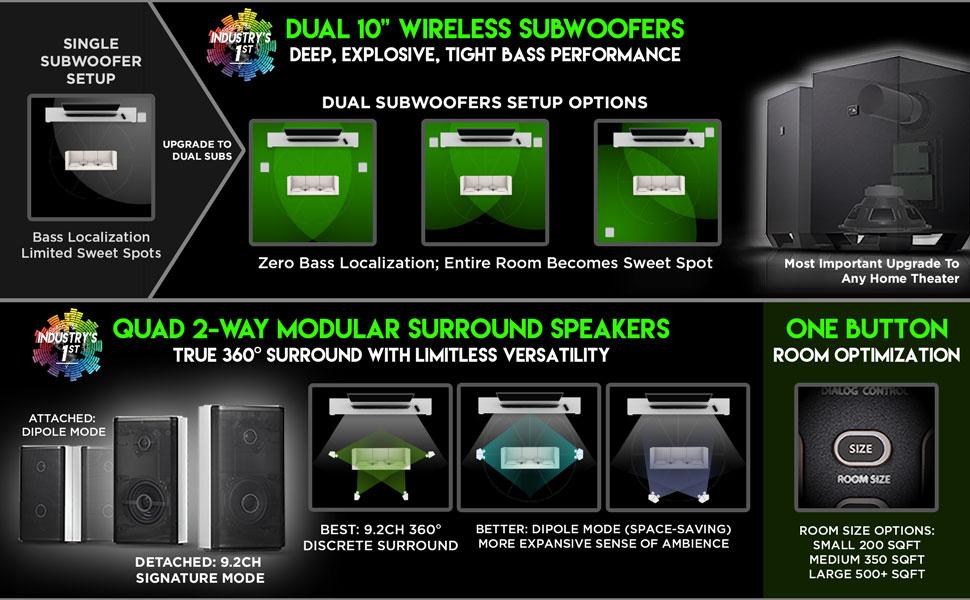 Amazon.com: Nakamichi Shockwafe Ultra 9.2Ch DTS:X 1000W 45
