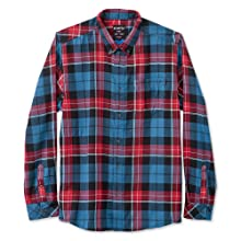 KAVU Men/'s Huck Long Sleeve Shirt Large Grass