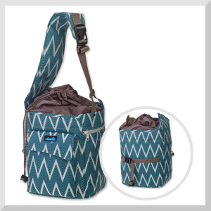1952f5952e8c5 KAVU Cliff Climber Bag Crossbody Tote Bag Pack for Climbing Hiking and  Camping