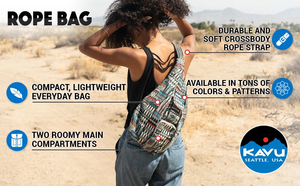 35136e65c1 kavu rope bag crossbody shoulder cotton backpack sling