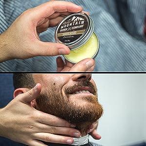 Sandalwood Beard Balm Conditioner Wax - Add Shape