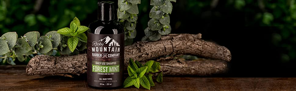 Forest Mint Shampoo - Tea Tree, Peppermint, Eucalyptus Oil
