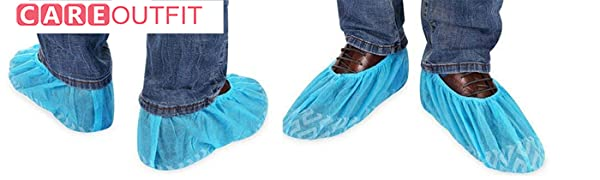 disposable shoe covers from careoutfit