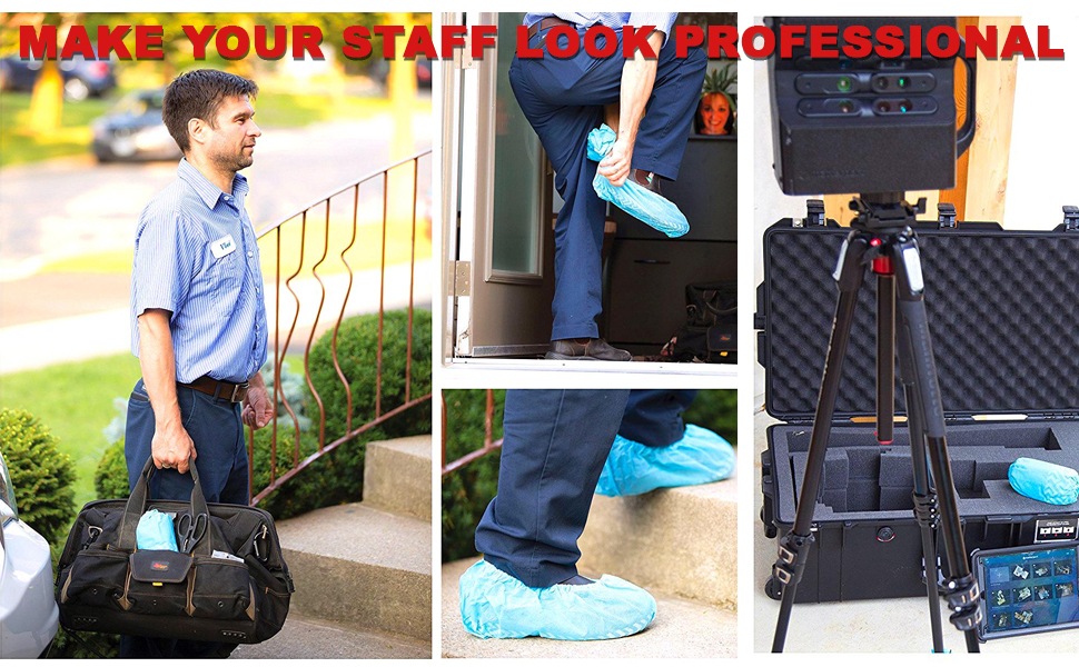 make your staff look professional