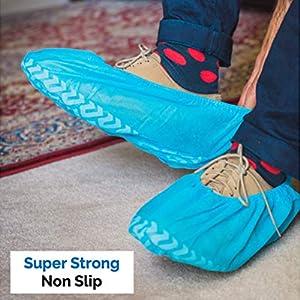 non slip disposable shoe covers