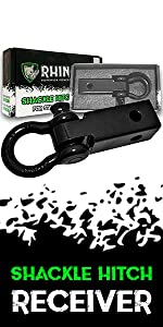 rhino usa accessories recovery gear offroad tow strap tree saver d ring shackle