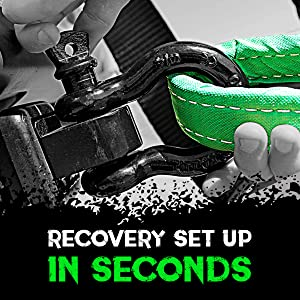 rhino usa superior powersports accessories motorcycle offroad recovery gear tow strap winch rope