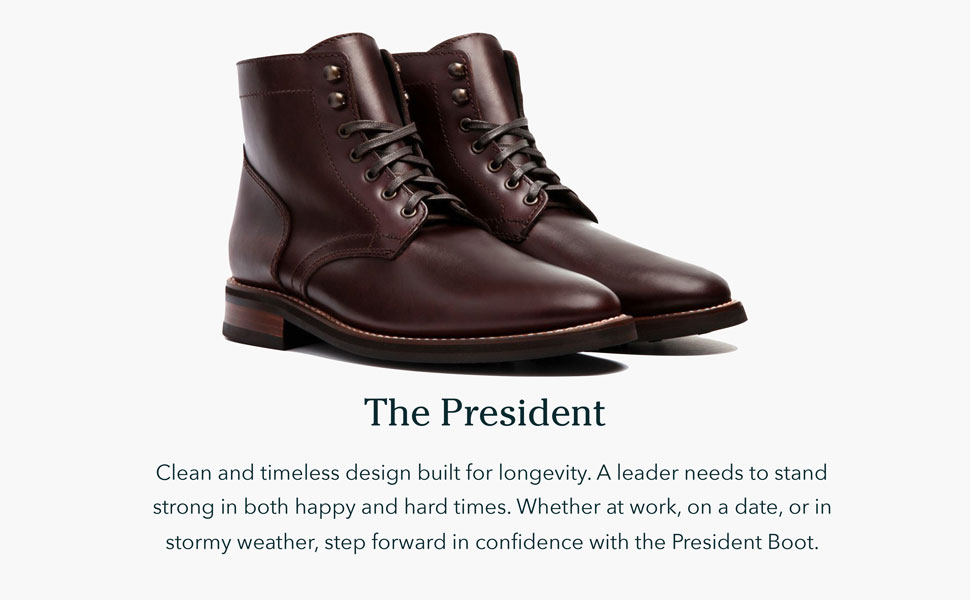 President Mens Lace-up Boot