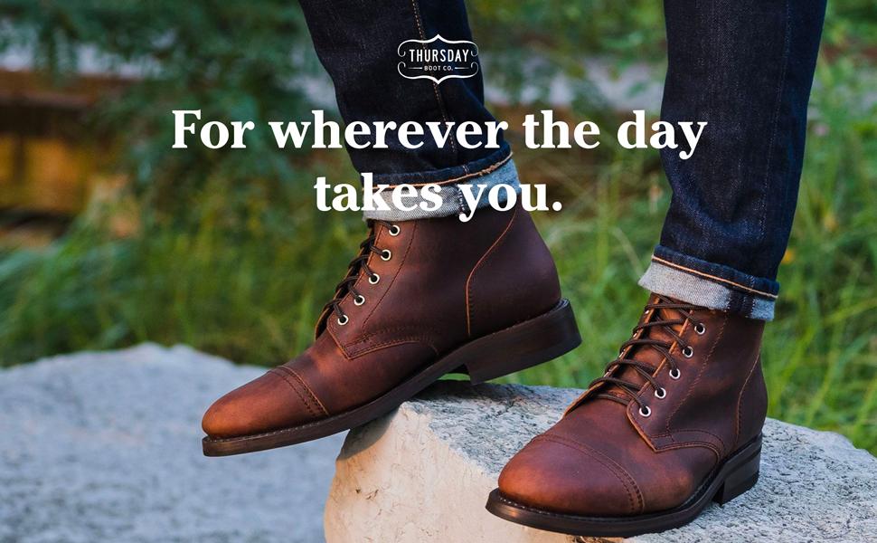 rugged captain boot
