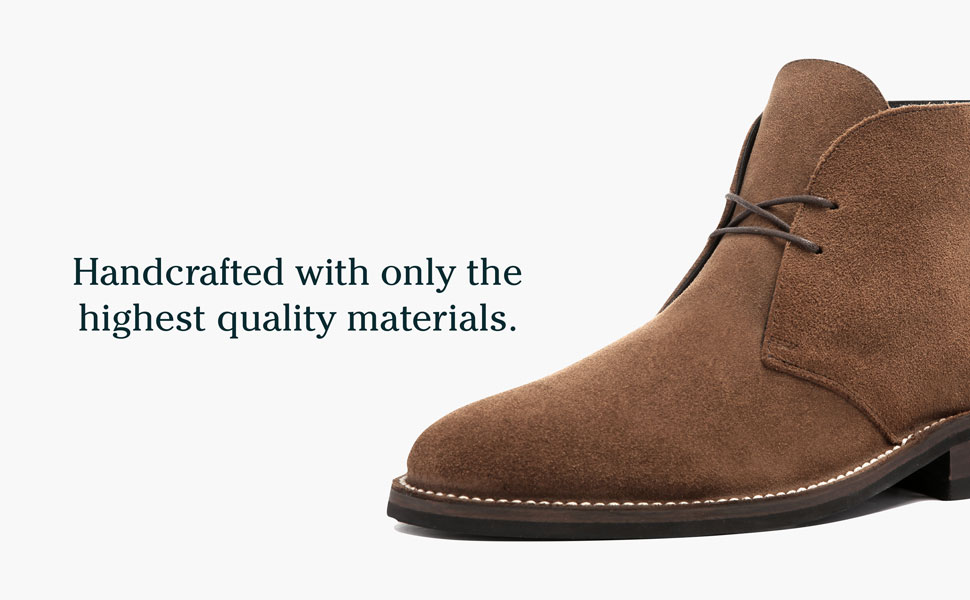 Handcrafted with only high quality materials.