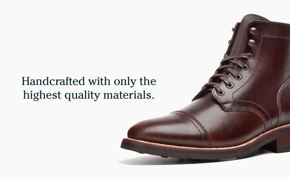 Handcrafted with only the highest quality materials.