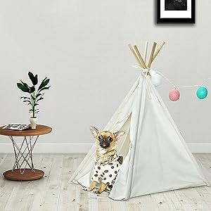 pet tent bed