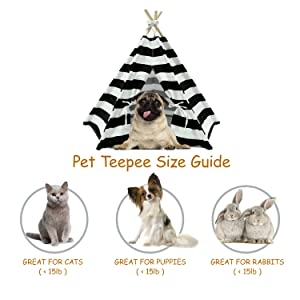 tipi tent for pets