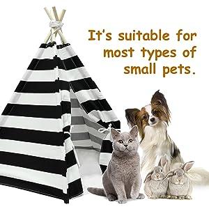 small pet teepee