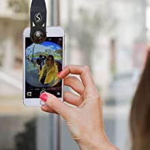 selfie lens samsung iphone android ios  5 in 1 Phone Camera Lens Kit – Optical Glass Attachment Set – 2X Zoom Telephoto, 198 Fisheye, 0.63X Wide Angle, 15X Macro, CPL Filter with Universal Clip Adapter for Cell Phones and Tablets (Black) 236b8b21 b2bc 443b b869 6b946a4ee8e1