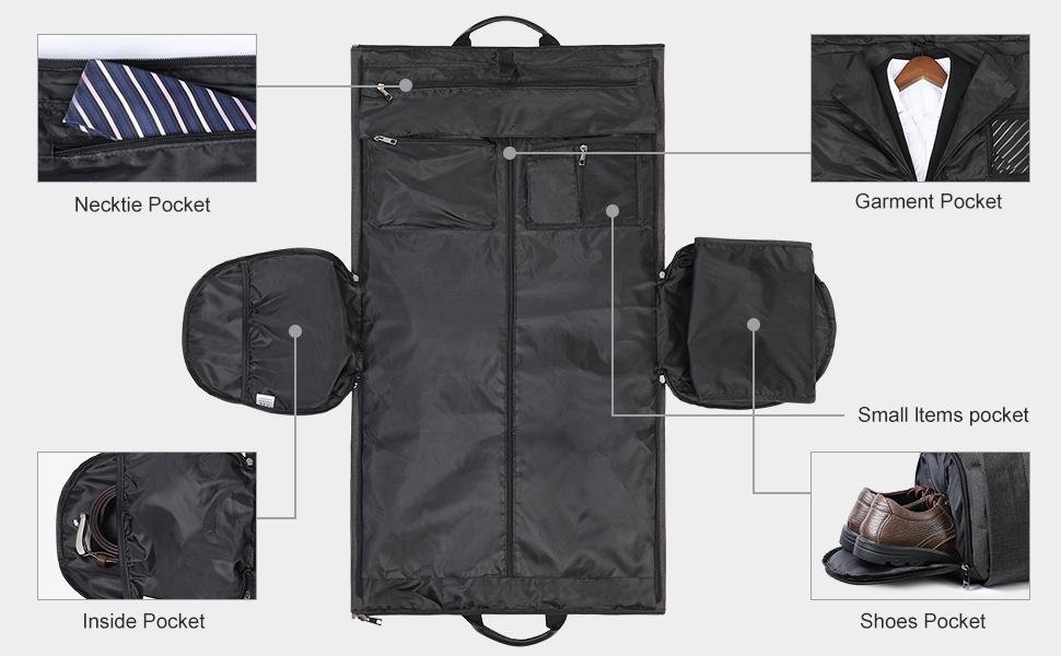 25881d954424 GARMENT BAG. duffle bag