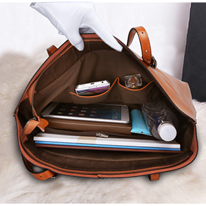 Amazon.com  S-ZONE Women s Vintage Genuine Leather Tote Shoulder Bag ... d867989d33d50