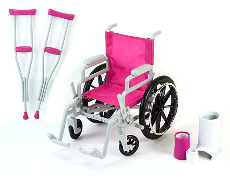 Sophia 39 S Doll Wheelchair Set 18 Inch Toys Games