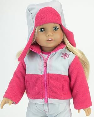Amazon.com: Doll Ski Set Fits American Girl Dolls: 18 Inch