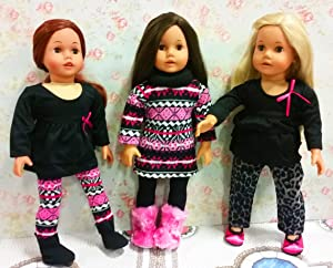 Amazon.com: Sophia's 18 Inch Doll Boots, Doll Clothes Item