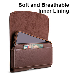 With Soft and Breathable Inner Lining