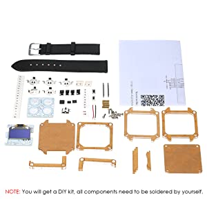 Package List: 1 * Electronic Watch DIY Kit