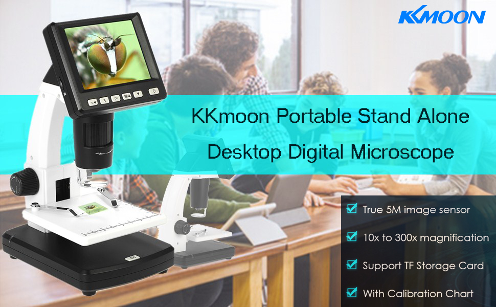 Amazon com : Microscope, KKmoon 3 5