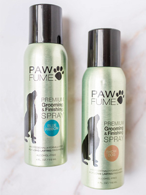 pawfume, best dog grooming, grooming spray, dog perfume, dog cologne, dry shampoo for dogs,