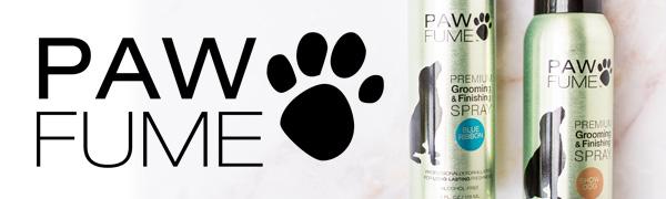 Pawfume, dog shampoo, dog cologne, grooming spray, finishing spray, dog perfume, dry shampoo for dog
