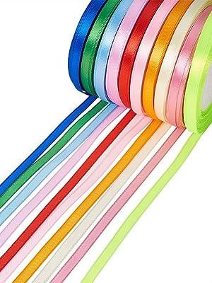 card making//scrap booking charity 30 Royal Blue 6mm Satin Ribbon bows