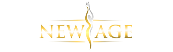 logo of newage organization beauty