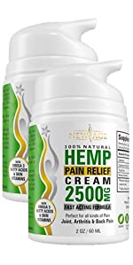 new age hemp cream lotion cbd cream pain relief anxiety