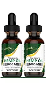 new age hemp oil cbd pain relief sleep anxiety