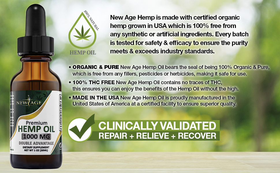 new age hemp oil