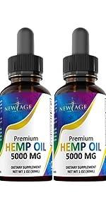 new age hemp oil cbd pain relief sleep anxiety