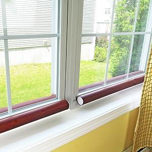 evelots 36 jumbo double door draft stopper energy saving draft seal home improvement. Black Bedroom Furniture Sets. Home Design Ideas