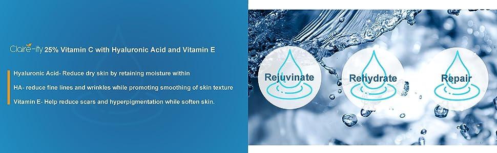 Rehydrate rejuvinate repair revitalize cruelty free made in usa