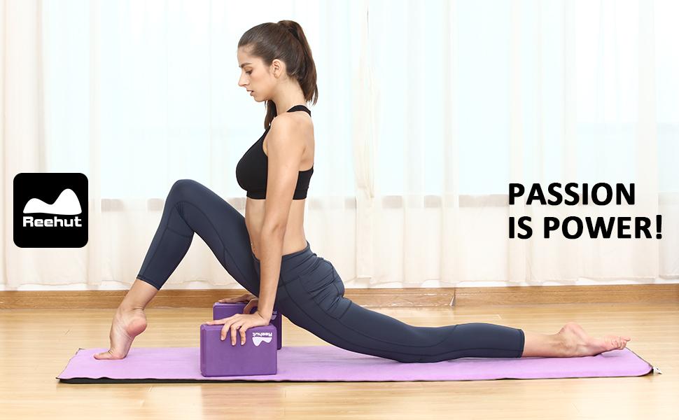 REEHUT Yoga Set 6-Piece - Includes 1/2